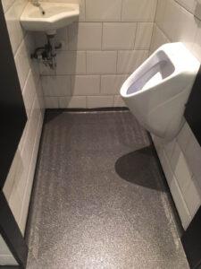troffelvloer badkamer